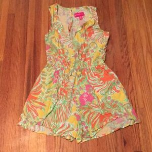 Gently used Lilly Pulitzer for Target Romper